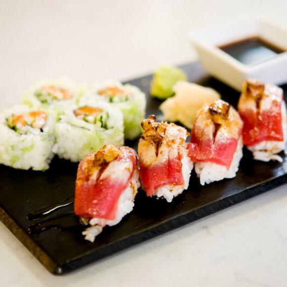 bandeja de sushi en murcia