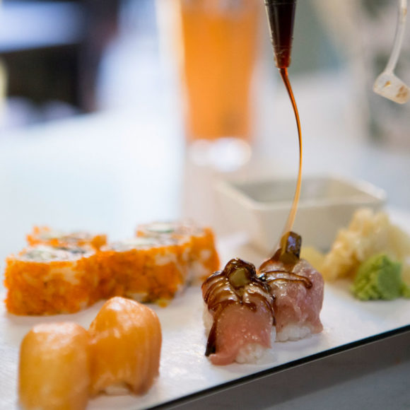 salsa para sushi en moshi moshi